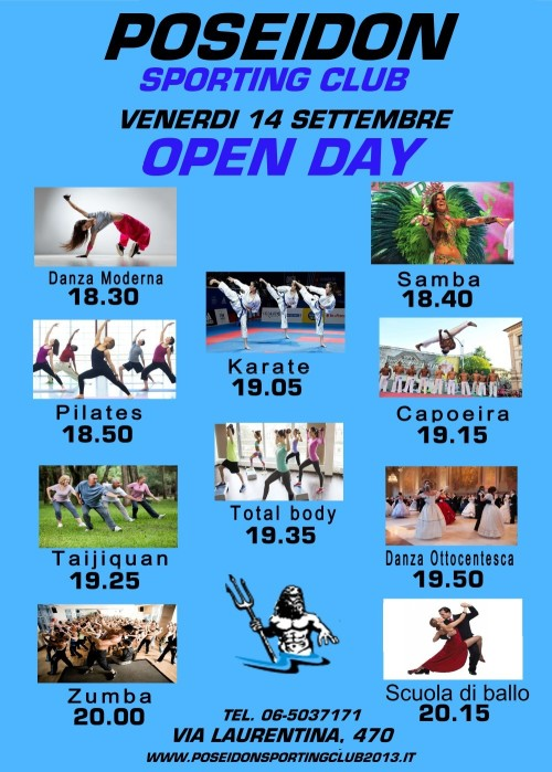 LOCANDINA OPEN DAY FITNESS